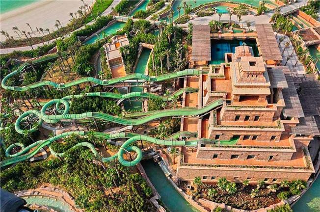 Toàn cảnh Master Blaster Water Coasters