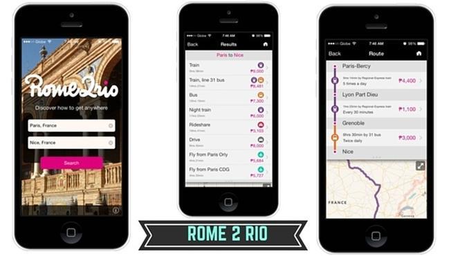 Sử dụng ứng dụng Rome 2 Rio
