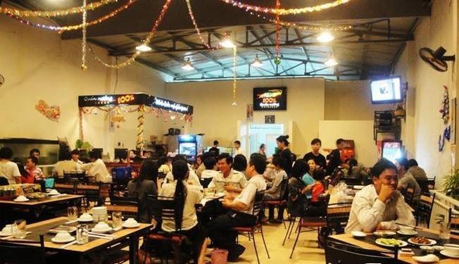Nhóp Nhép một trong những quán ăn ngon ở Đà Nẵng
