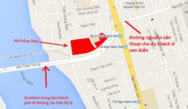 Đường đến phố Bằng Lăng