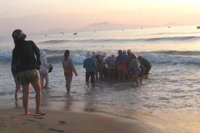 Ngư dân đón cá về (ảnh sưu tầm)