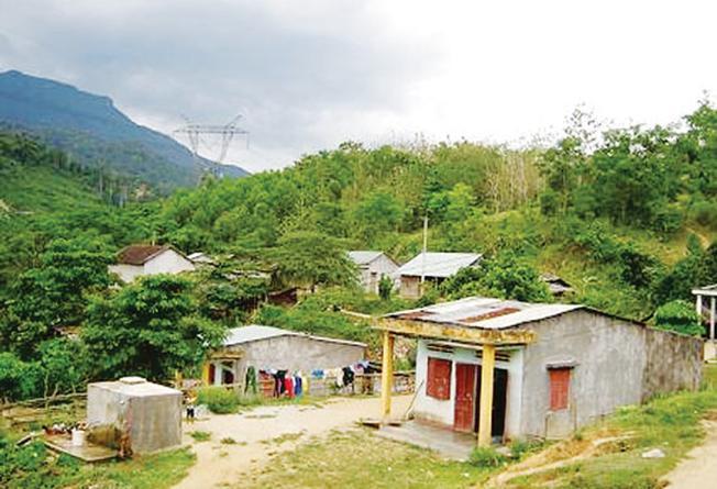Một góc làng Rô