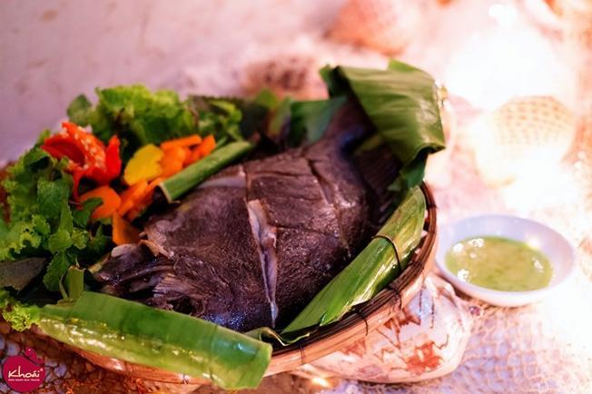 Đặc sản cá dìa ở bãi dài Nha Trang