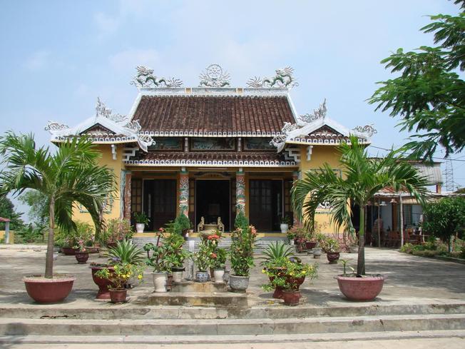 Đình làng Đại Nam nay thuộc phường Hòa Cường, Hải Châu, Đà Nẵng