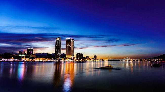 Cảnh đẹp sông Hàn ở Đà Nẵng