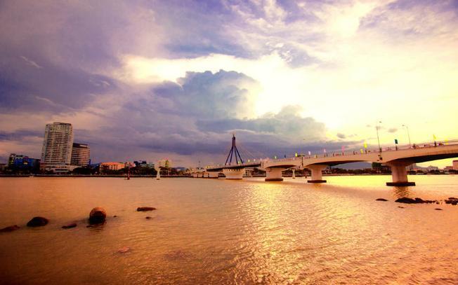 Cảnh đẹp sông Hàn ở Đà Nẵng 02