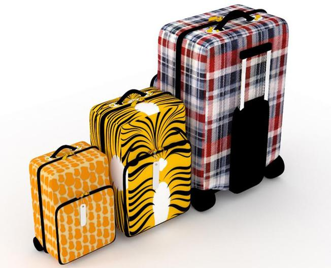 Chọn những vali đơn giản