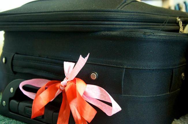 Biến chiếc vali trở nên độc đáo dễ nhận ra