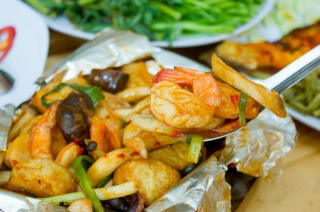 Tàu hũ khói lửa Nha Trang tổng hợp hương vị đầy đủ của thiên nhiên