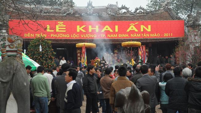 Lễ hội đền Trần nét đẹp tâm linh Nam Định