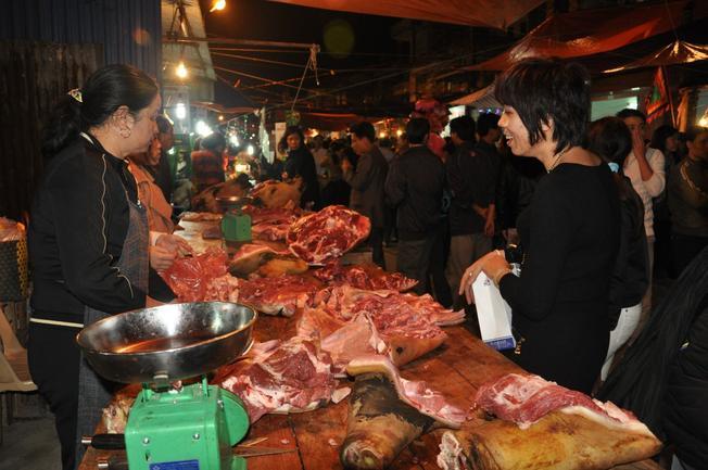 Thịt bò tín vật may mắn đầu năm