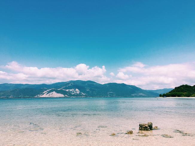 Khung cảnh của đảo Điệp Sơn