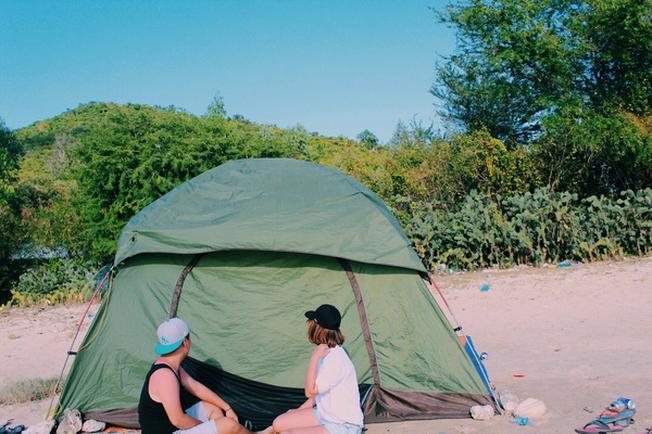 Lều trại của nhóm bạn