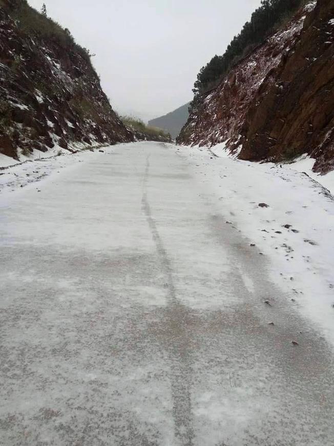 Con đường trắng tuyết, một khung cảnh chỉ nghĩ có ở nước ngoài nay đã có mặt tại Quảng Ninh