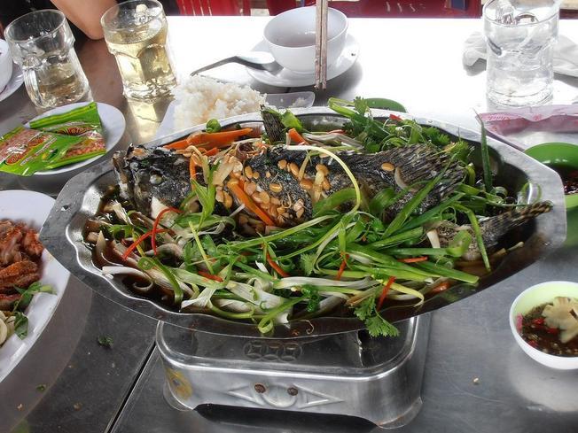 Cá bống mú hấp vừa ngọt, vừa béo (Ảnh sưu tầm)