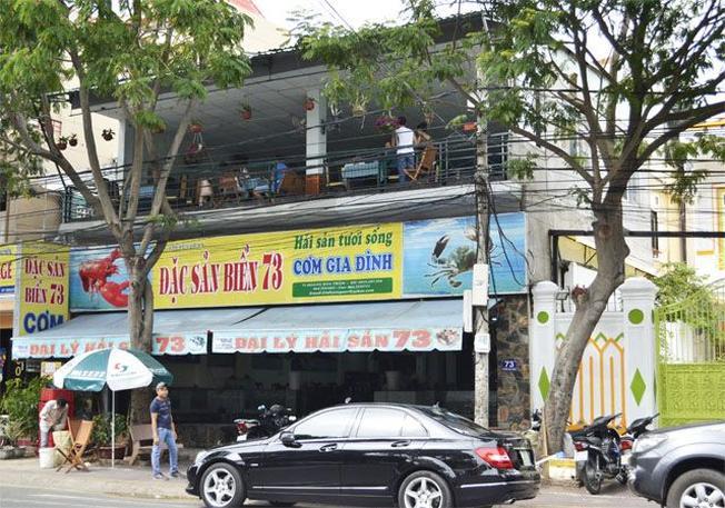 Một trong những quán hải sản nổi tiếng Vũng Tàu (Ảnh sưu tầm)