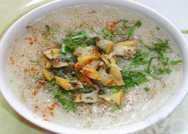 Ăn hải sản ở Vũng Tàu với món Cháo hàu Long Sơn (Ảnh sưu tầm)