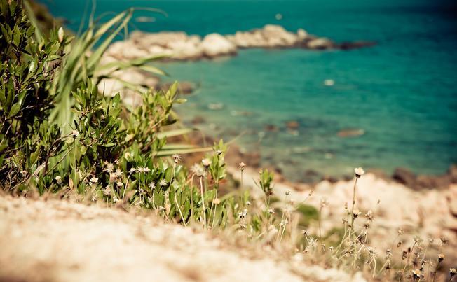 Bờ biển Trung Lương êm đềm