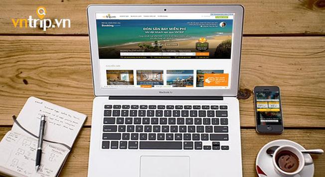 Trang web đặt phòng trực tuyến của startup này