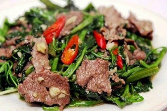 Thịt trâu là đặc sản ở Đại Lải