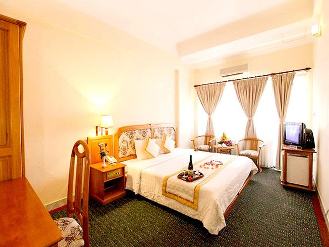 Phòng nghỉ của Cap Saint Jacques Hotela