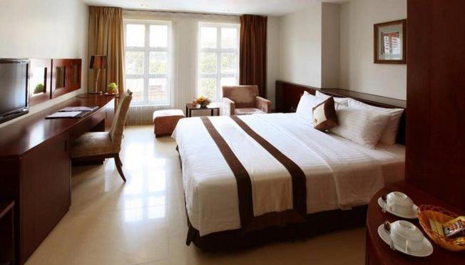 Phòng nghỉ của Thang Muoi Resort & Beach