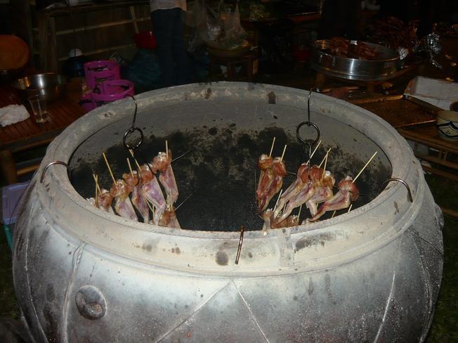 Chuột nướng lu