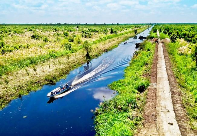Vườn Quốc gia U Minh Thượng ở Kiên Giang