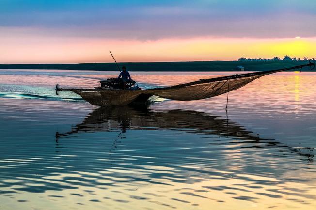 Biển bình yên và phẳng lặng