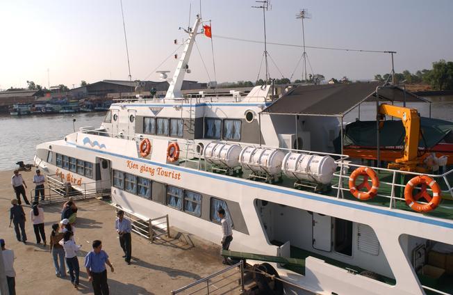 đi du lịch Phú Quốc bằng tàu
